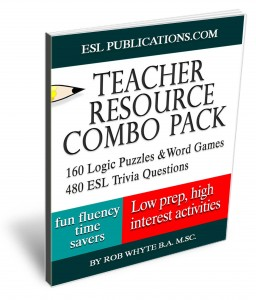 Teach English with games and trivia to helps students learn English.