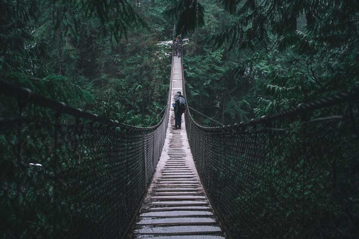 bridge mountain