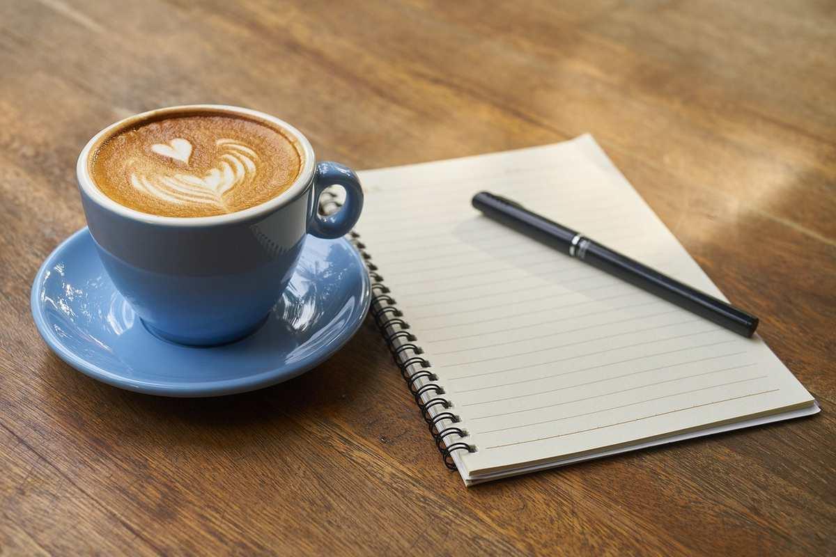 esl writing lesson coffee
