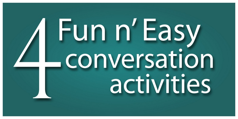 ESL teaching materials conversation