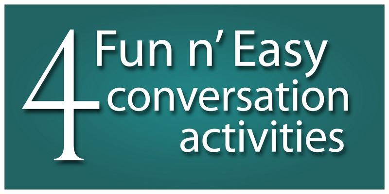 ESL teaching materials conversation