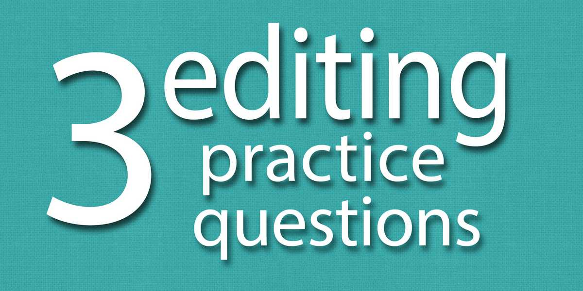 editing learn English writing