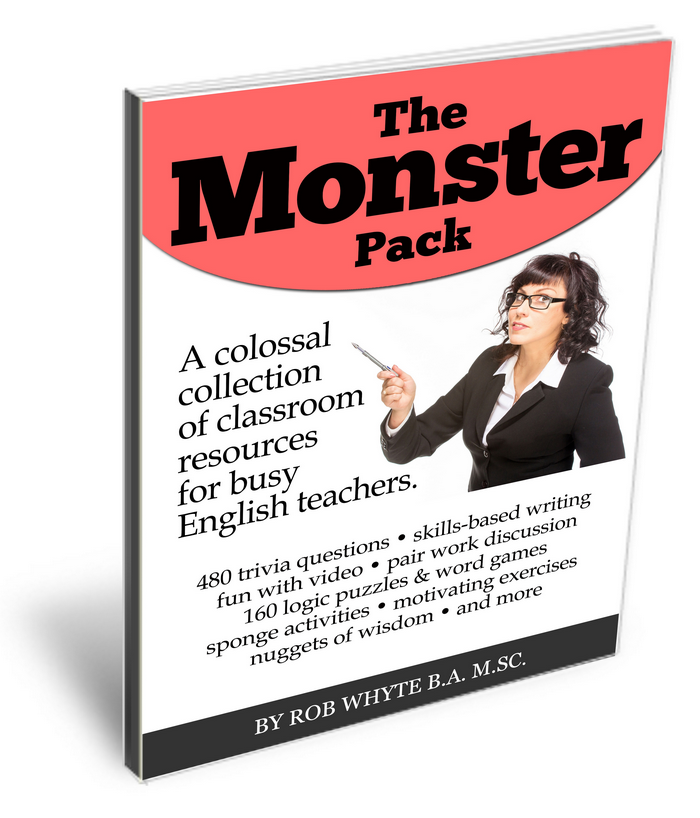 monster pack esl resources