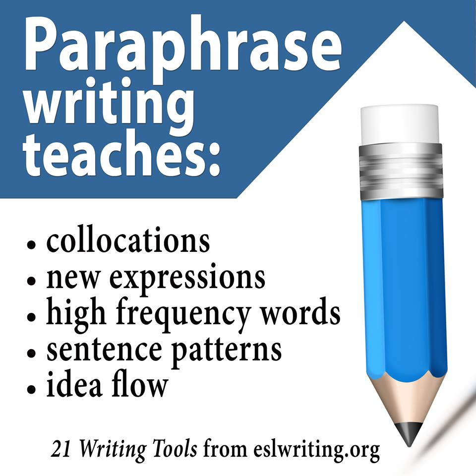 paraphrase writing