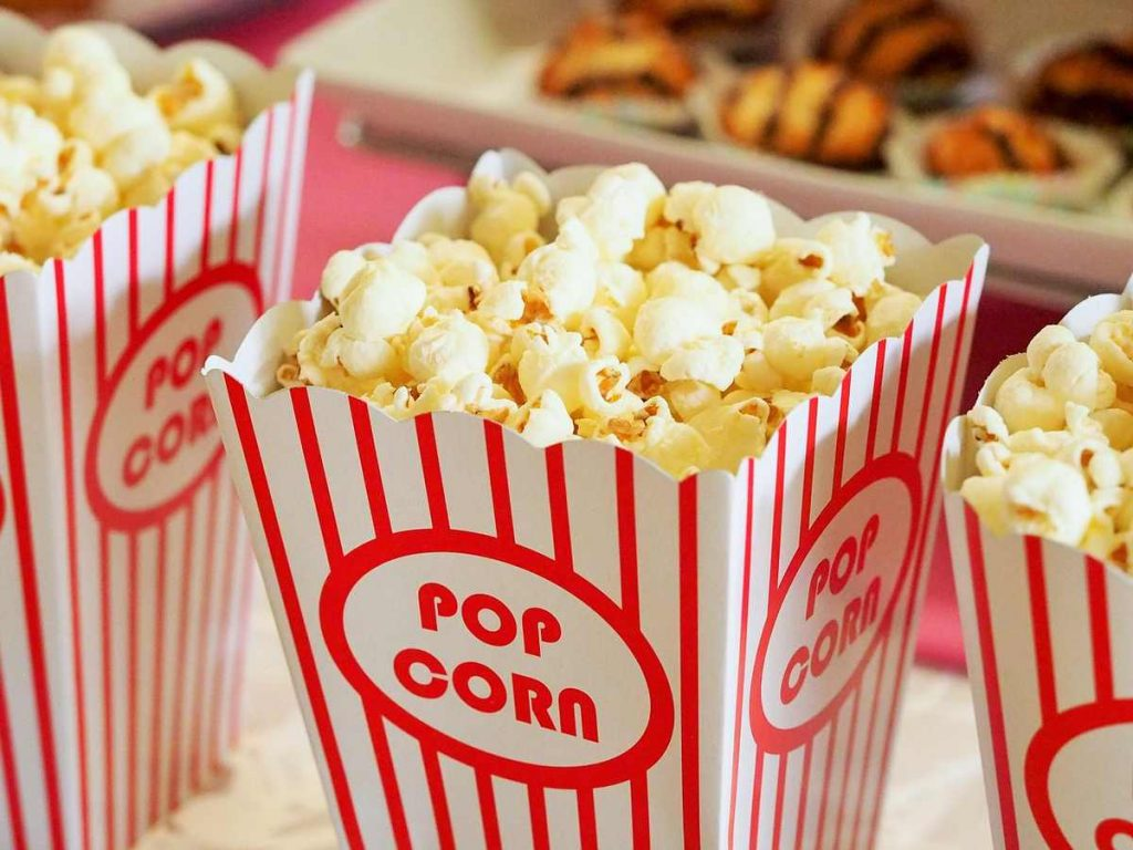 learn to write English summary about popcorn