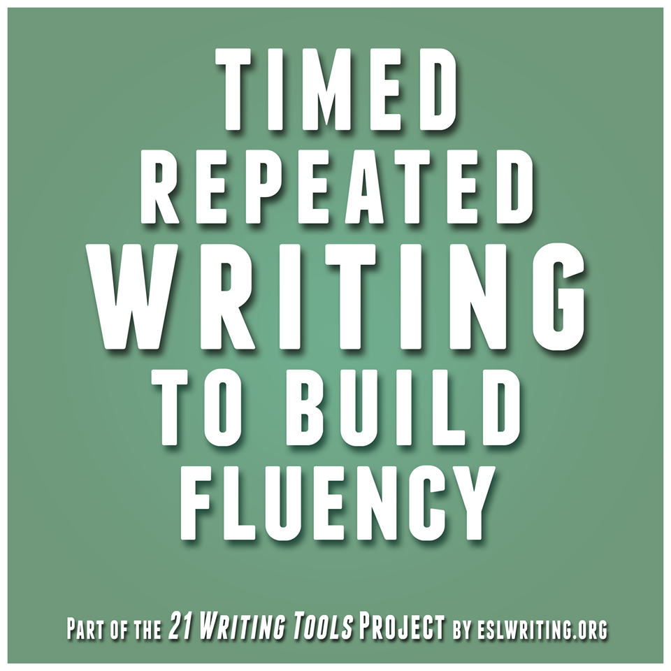 esl writing fluency activities To practice esl writing, you need to focus on fluency, as well as accuracy  home adults esl writing practice | focus on fluency  40+ esl activities and games.