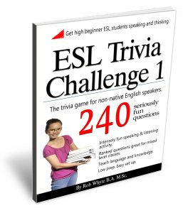 teach English with ESL trivia game
